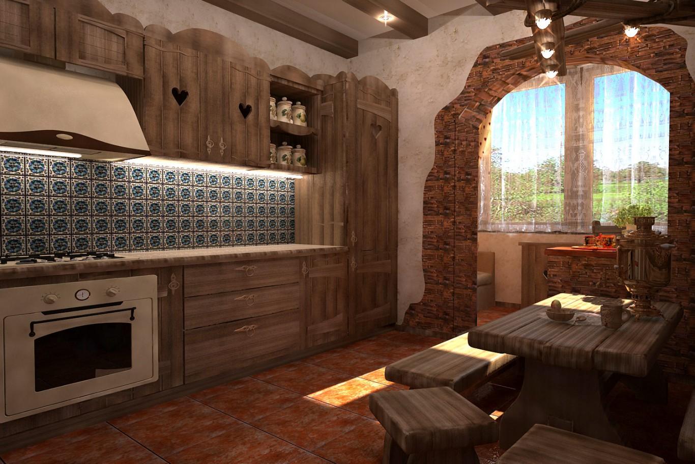 Кухни под старину купить в Белгороде