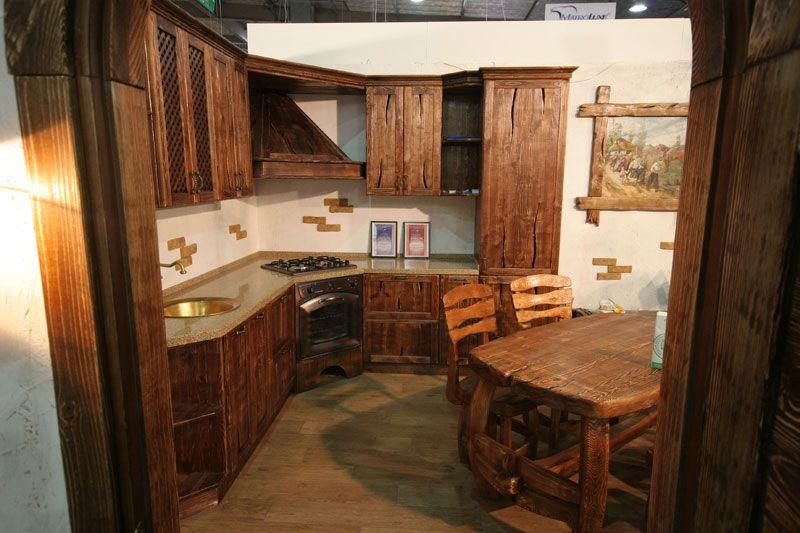 Кухня под старину «Кухня № 6» купить в Белгороде