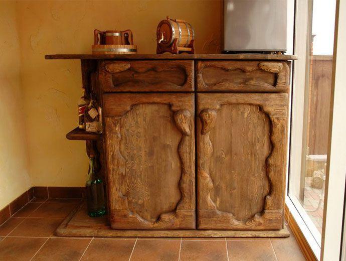 Комод из массива дерева под старину купить в Белгороде