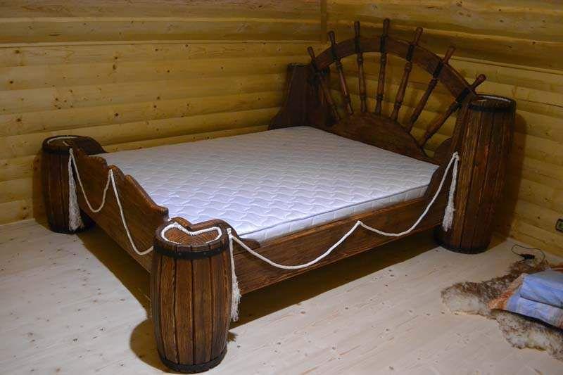 Кровать под старину «Боцман» купить в Белгороде