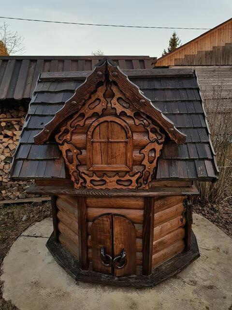 Колодец под старину купить в Белгороде