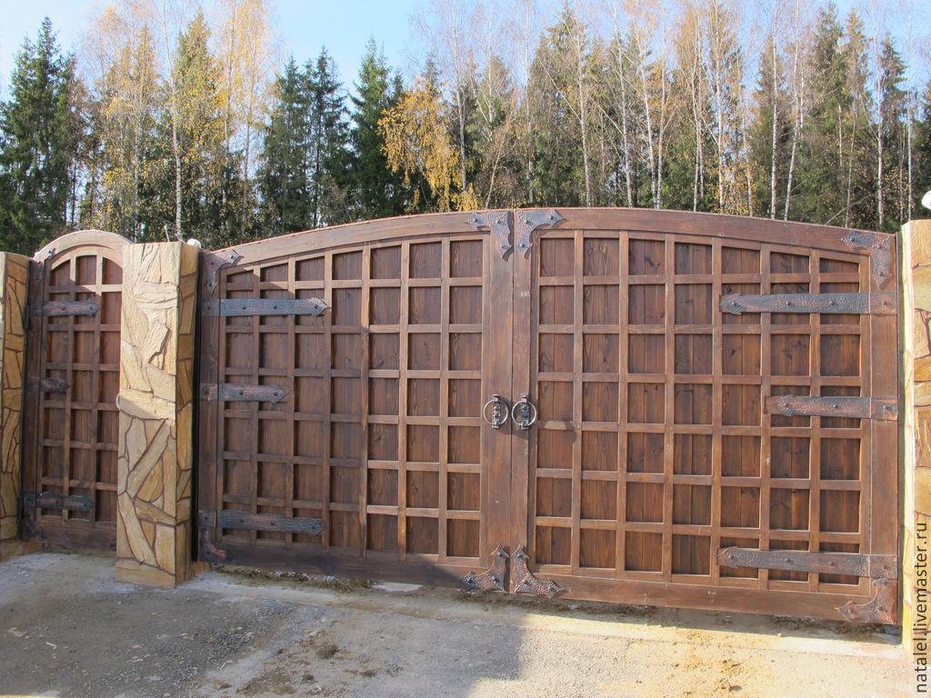Ворота под старину купить в Белгороде