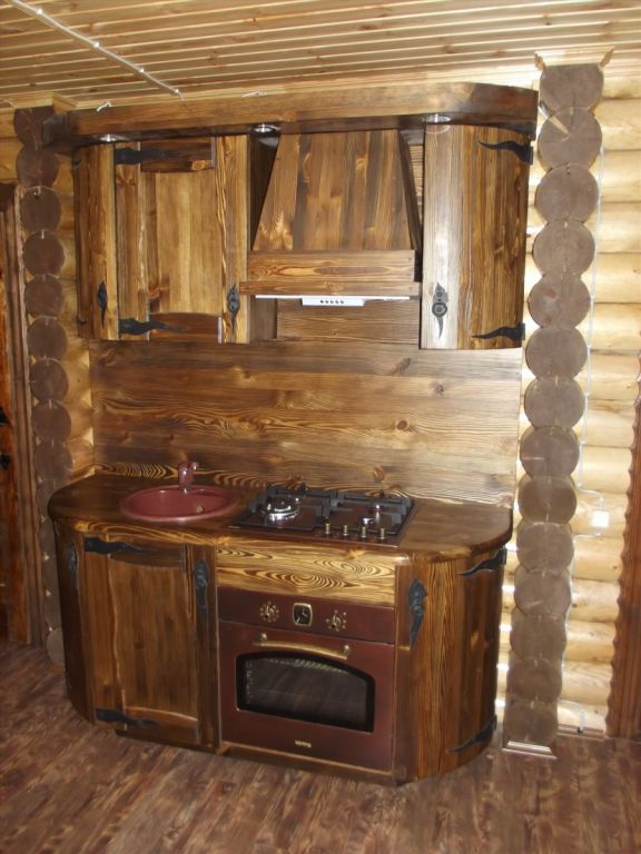 Кухня под старину «Кухня № 4» купить в Белгороде