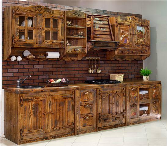 Кухня под старину «Кухня № 10» купить в Белгороде