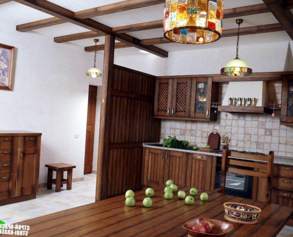 Кухня под старину «Кухня № 7» купить в Белгороде