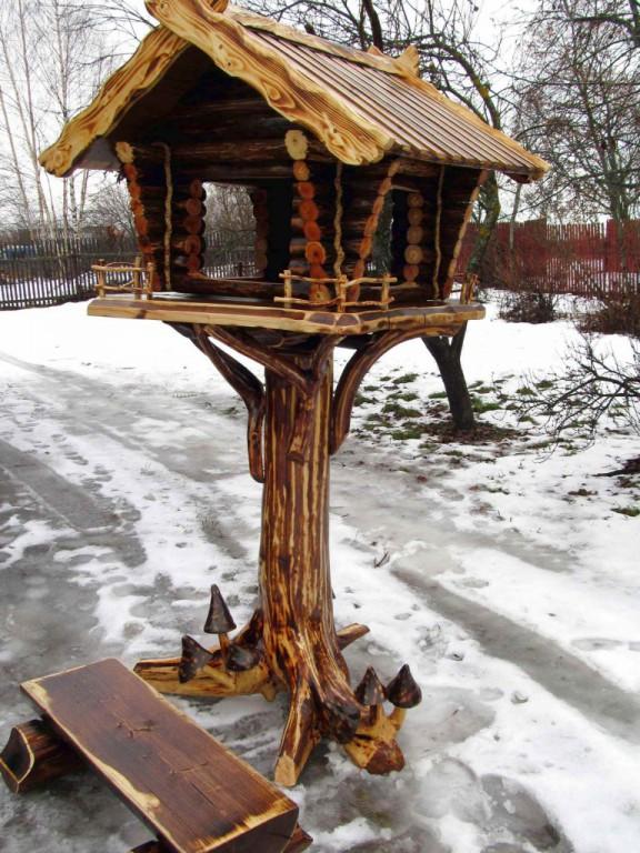 Деревянные кормушки под старину купить в Белгороде