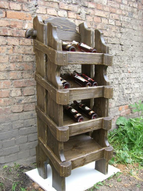 Винные полки под старину купить в Белгороде
