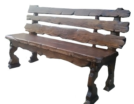 Скамья под старину «Старый пень» купить в Белгороде