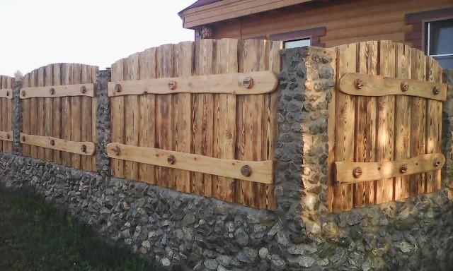 Забор под старину