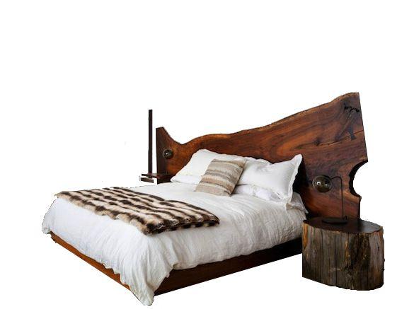 Кровать из дерева «Плашка» купить в Белгороде