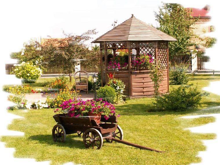 Телега под старину«Садовая декор» купить в Белгороде
